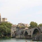 Vue sur Avignon et son pont