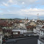 View of Bern from the rooftop bar