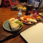 3 portions street food