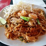 Pad Thai with Seafood