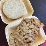 All new piri piri chicken burger! Proving to be very successful 5* food!