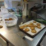 fresh-baked cookies