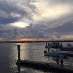 Sunset at Boathouse Restaraunt