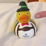 Hilton duck (7€)