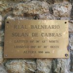 Photo de Real Balneario Solan de Cabras