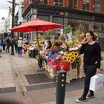 Flower Vendor on Grafton Street