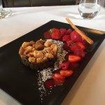 Crumble d'aubergines : dessert !