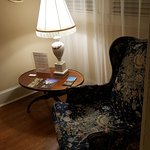 A small reading nook in the corridor outside my room.