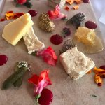 Local Cheese Plate with Red Currant & Rosemary Sauce