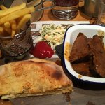 Beef brisket at Coal Bar and Grill, Basingstoke, Hampshire UK