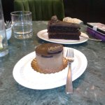 very rich chocolate mousse dessert