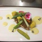 Filet de saumon en croûte d'herbes