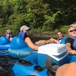 Family tubing is the best!