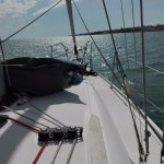 Short stop under anchor to take a dive