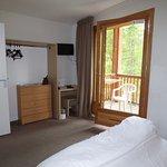 La plus belle des chambres : pour 6 personnes avec une grande chambre avec balcon
