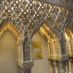 Moorish architecture transports you to Cordoba.