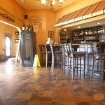 Bar area as you enter through front door
