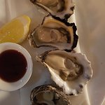 Oysters were lovely!