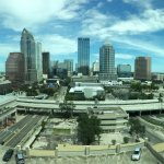 Pano shot from our bedroom suite window (14th floor)