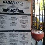 Variety of Choices - Casa Blanca Menu