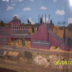 Some of the Cripple Creek-Victor Train Diorama in the lower Level