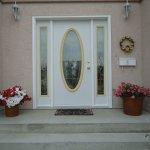 Entrance to Swiss House B&B, Penticton, BC