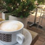 Rooftop cappuccino