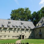 Meeting house and living space at Ephrata Cloister