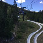 lift up to the alpine slide
