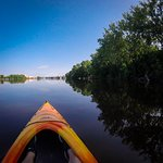 Paddling north along the mighty Mississippi