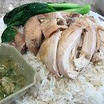 Scallion Chicken over Rice