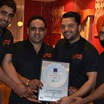 Awarded as Best Indian Restaurant in Ausralia!!