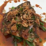 Amazing Thai Snapper main dish