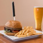 Burger and pint deal