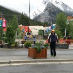 Opposite Visitors Centre Banff