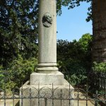 Found at Place Denfert-Rochereau, this is a monument in memory of the French artist Nicolas Char