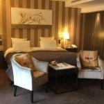 Chambre suit et spa, restaurant gastronomique 5 plat, accès spa.