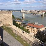Budapest city view from Citadel