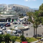 Main city area of Puerto Banus