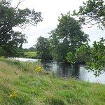 River Rede runs through the grounds