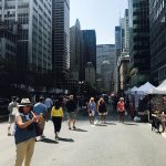 Sunday open market at 7th AVE