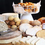 100% organic breakfast buffet