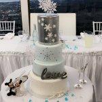 cake with a veiw