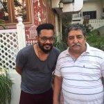With The owner himself Mr. Ravi Kumar Sharma former India B Team player.