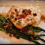 Hudsons Bar and Grill's Halibut