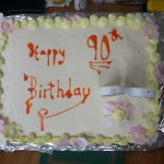 Cake made by Mike