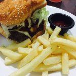Delicious, mouth-watering Western Burger!