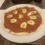 """Bannana Pizza """"With"""" Nutella!"""