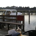 Quiet Deck Overlooking The Canal. Perfect For Sunset Viewing!