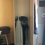 Mini closet.